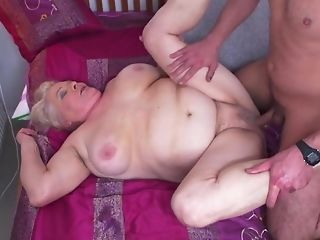 Youthful Gerontophile drills highly phat elder grandma Nearby Her unshaved snatch sexvideo