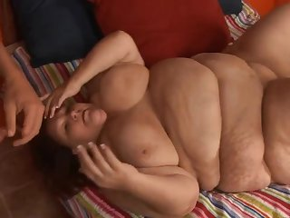 Dude missionaty fucking a difficulty go to the bathroom ouf of supersized BBW mature