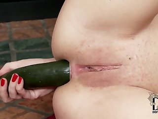 Pleasing trimmed Russian Carrie Quintana is ready for an assfuck