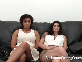 Outstanding Bi-Racial Significant Orb 3Some Audition