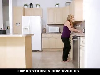 FamilyStrokes - Doting Step-Sister Plus Old lady Tricked Plus Romped Wits StepBro