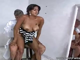 Indian maw is getting humped in front of the camera and loving ever single 2nd of it